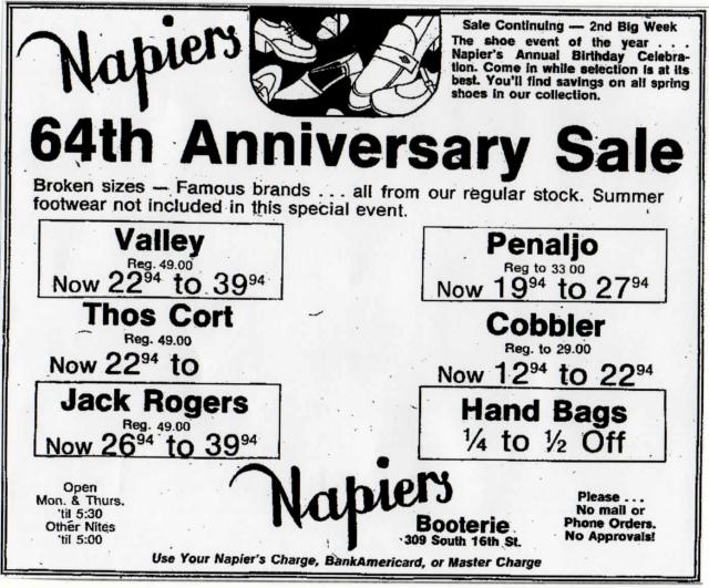 napier's78