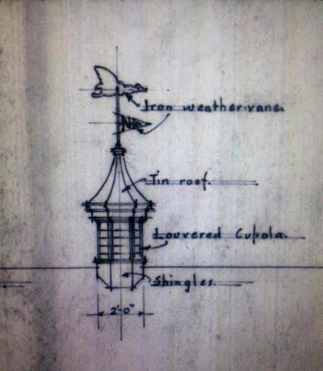 detail of cupola
