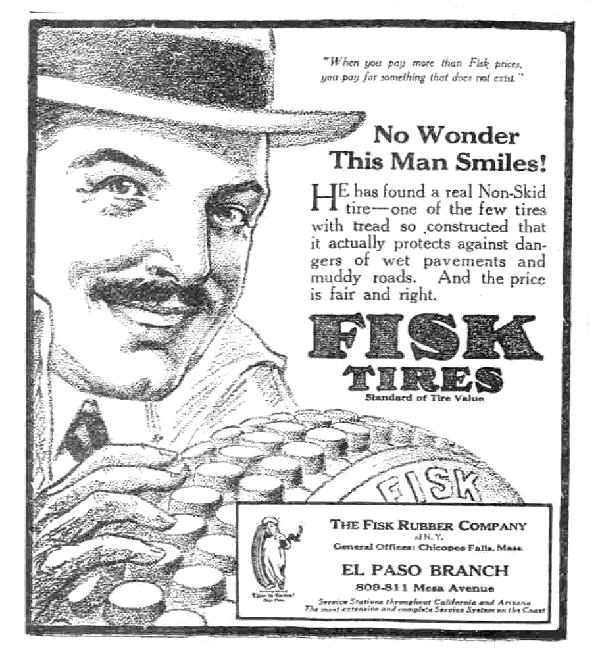 fisk_tire_1917_newspaper_ad