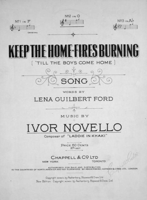 keepthehomefiresburning1914
