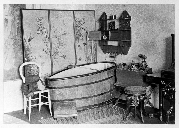 L0011835 Heldey, Hydro-electric bath, 1892